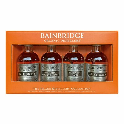 Two Islands Whiskey 4pk Sampler