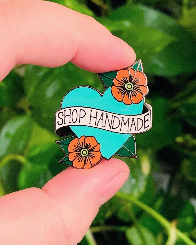 Enamel Pin, Shop Handmade