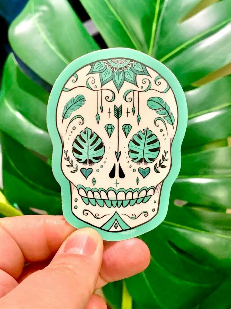Sticker, Calavera
