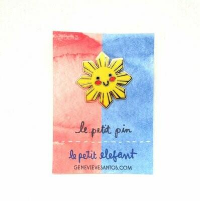 Philippine Sun Enamel Pin