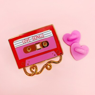 Love Songs - Enamel Pin