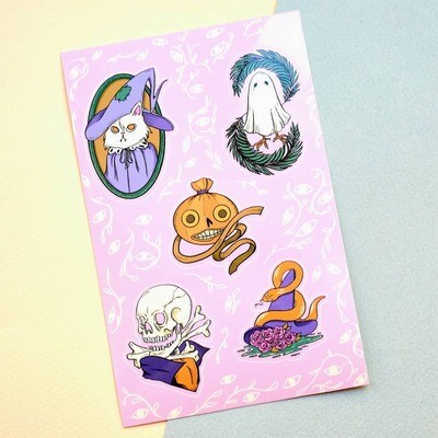 Cute & Witchy Sticker Sheet