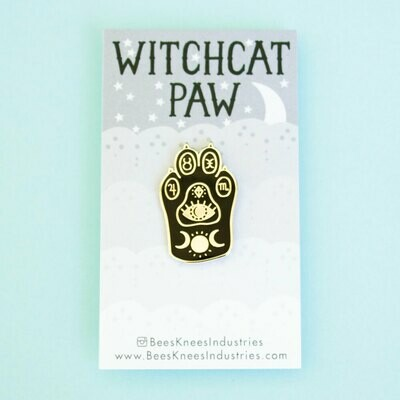 Witchcat Paw Enamel Pin
