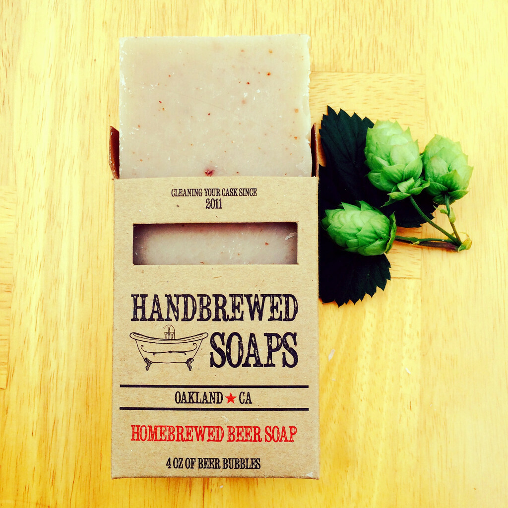 Tobacco IPA Beer Soap