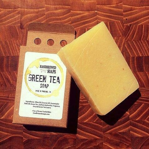 Green Tea Beer Soap