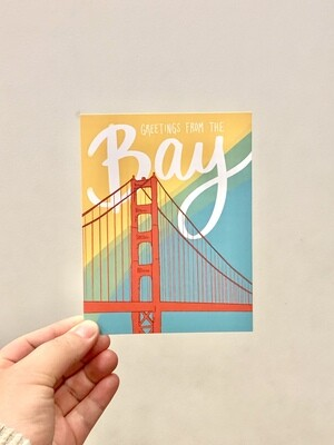 Card, Bay Greetings