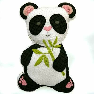 Crafty Creatures Embroidery Kit - Panda