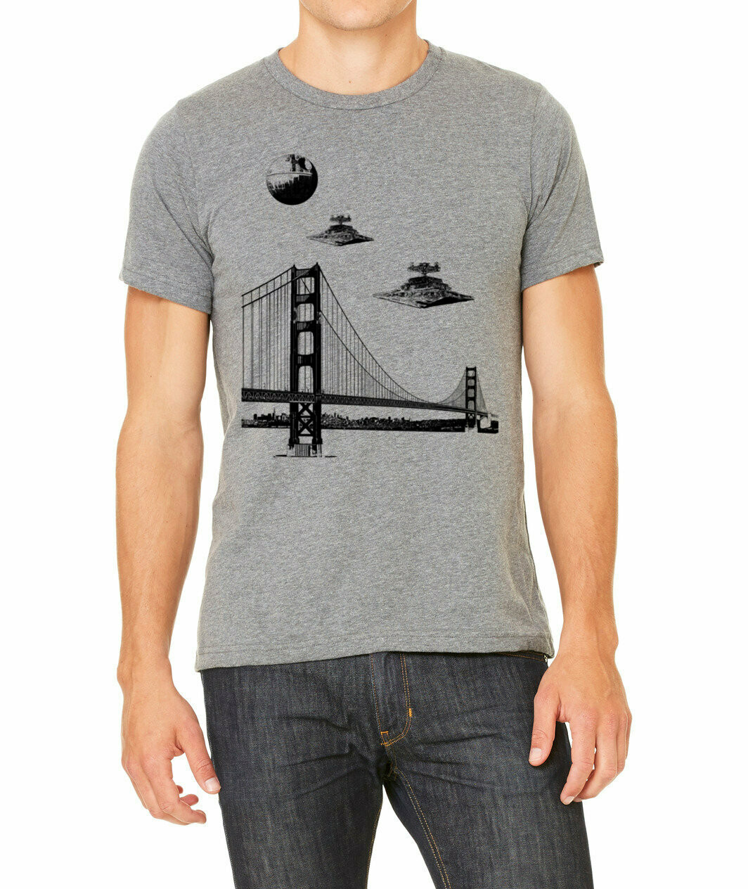 Men's Star Wars Bridge, Heather Gray
