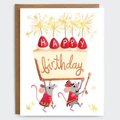 Cheesecake Mice Card