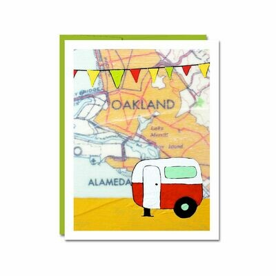 Alameda Camper Notecard - II