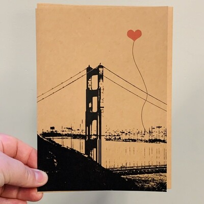 Heart in SF Card  - NEW