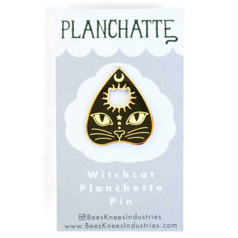 Planchatte Enamel Pin