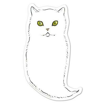 Ghost Cat Sticker