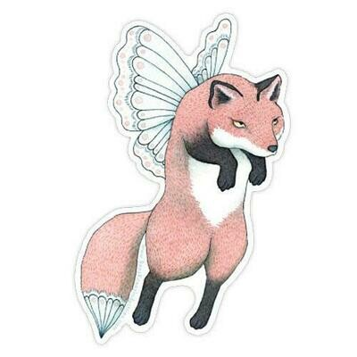 Fox Faerie Sticker