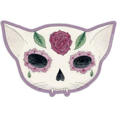 Rose Sugarskull Sticker