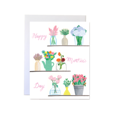 Mother's Day Flowers Card - II