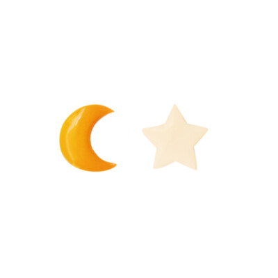 Star and Moon Earring