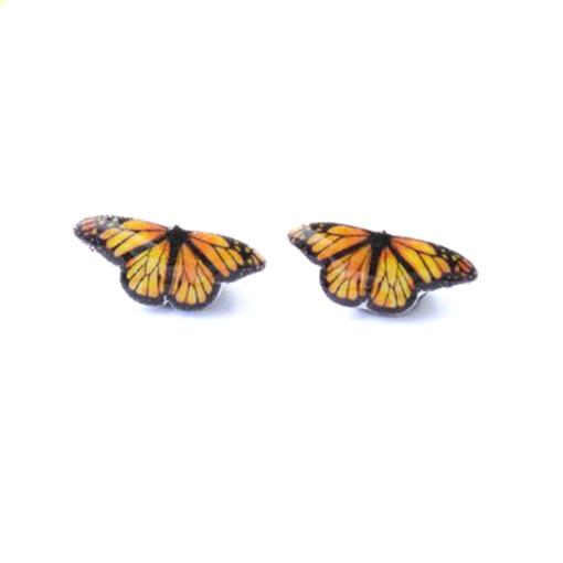Butterfly Earring - stainless steel