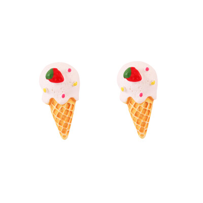 Vanilla Ice Cream Earring
