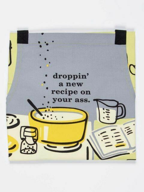 Droppin' a Recipe Apron