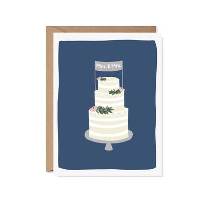 Mrs. & Mrs. Card (paper scissor)