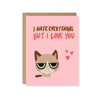 Grumpy Love Card