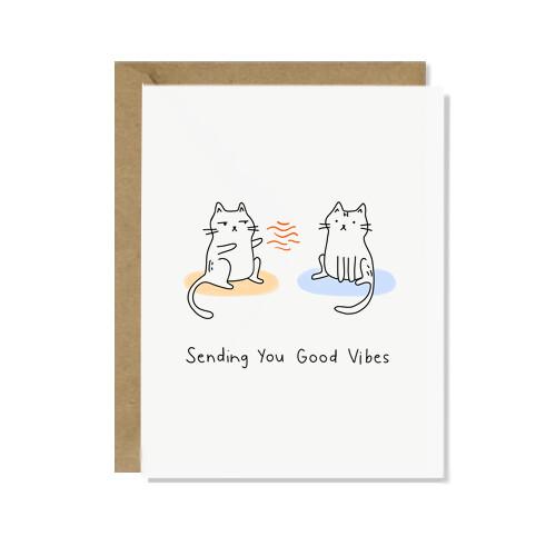 Sending You Good Vibes Card
