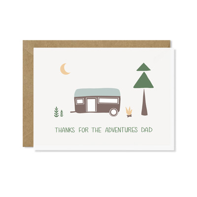 Adventure Dad Father's Day Card