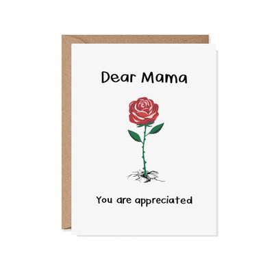 Dear Mama Card