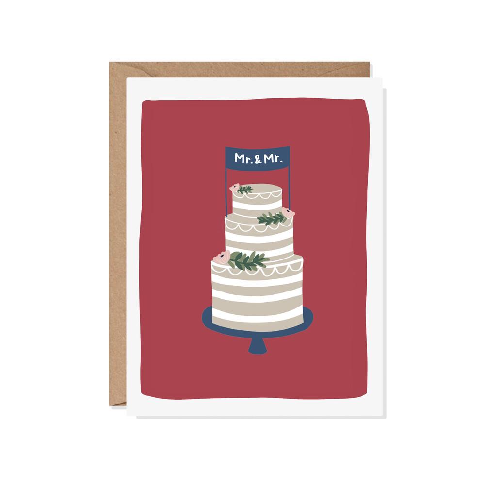 Mr. & Mr. Card (paper scissor)