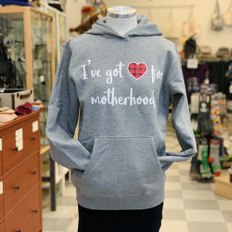 Motherhood Fleece Pullover Hoodie