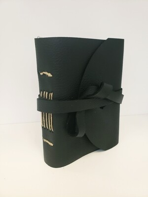 Leather-Bound Journal, Black