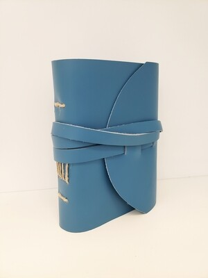 Leather-Bound Journal, Blue