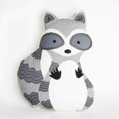 Crafty Creatures Embroidery Kit - Racoon