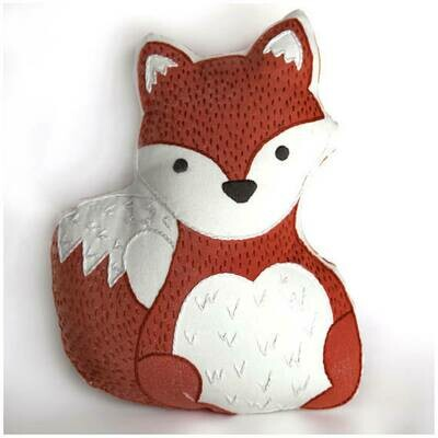 Crafty Creatures Embroidery Kit - Fox