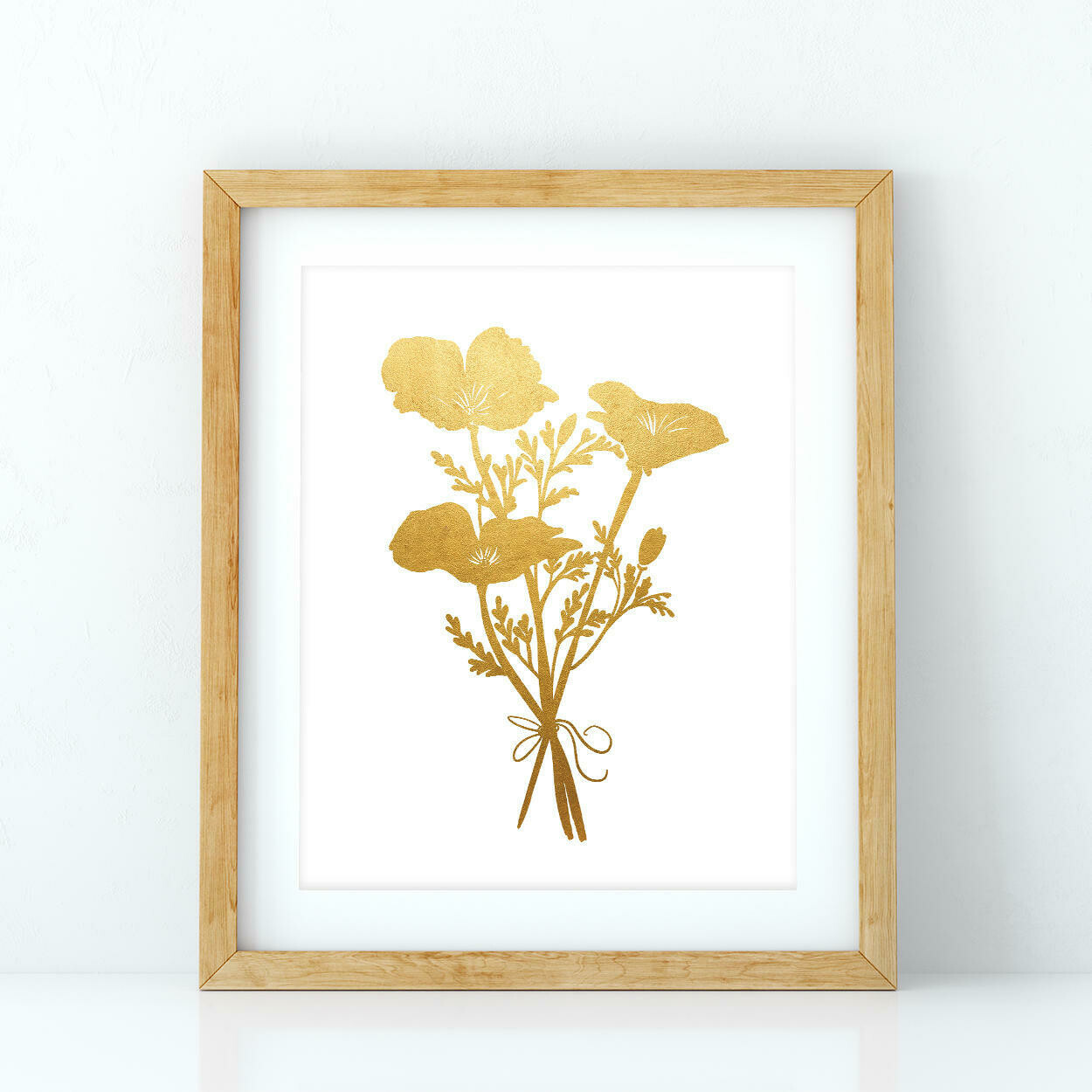 Print, Golden Poppies