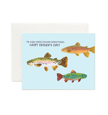 Fishing Adventure Father's Day Card