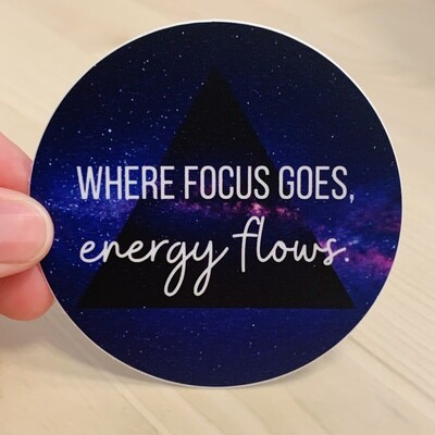 Sticker, Energy Focus