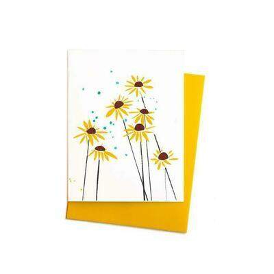 Blackeyed Susans Card, Single