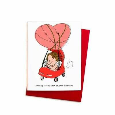 Cupid's Car Card, Single