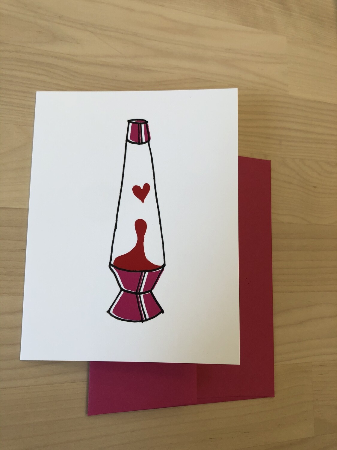 Lava Lamp Love, Love Card