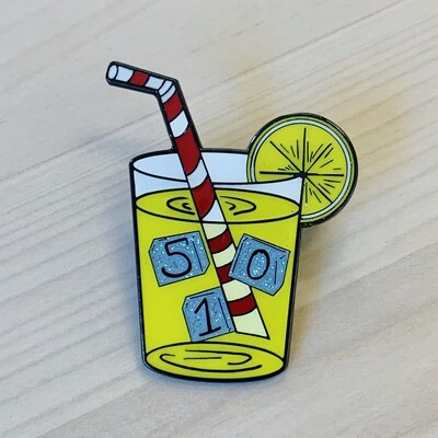 Drink Lemonade / 510 Lemonade Pin