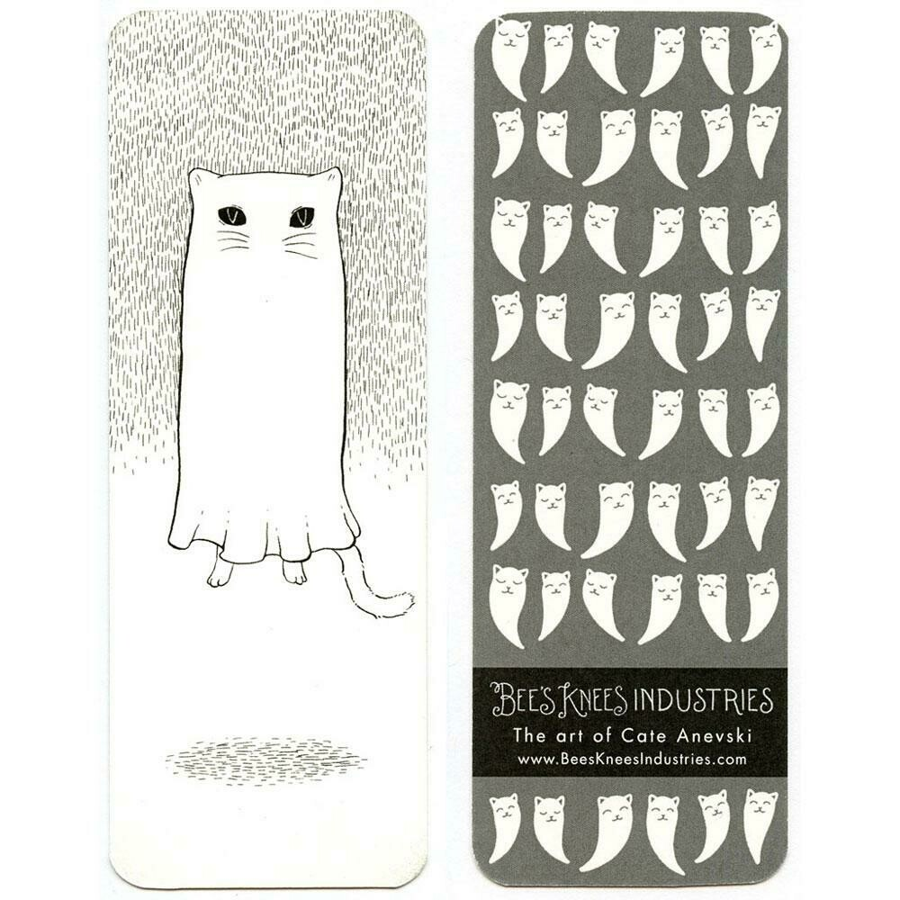 Floating Ghostie Bookmark