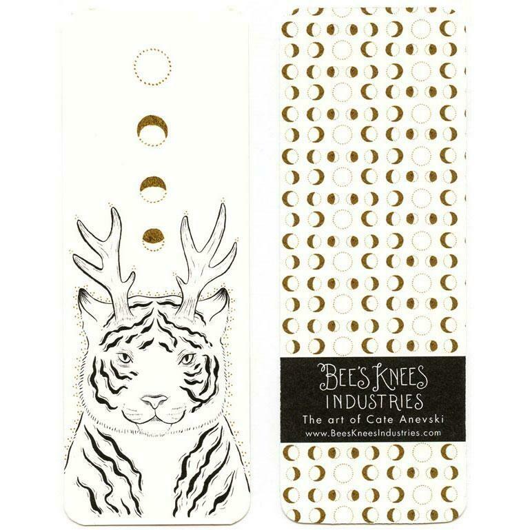 Fantastical Tiger Bookmark