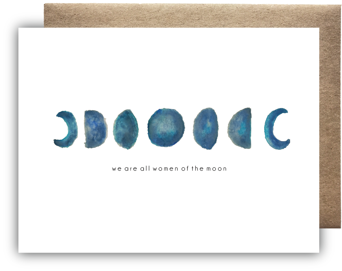 Women of the Moon Card