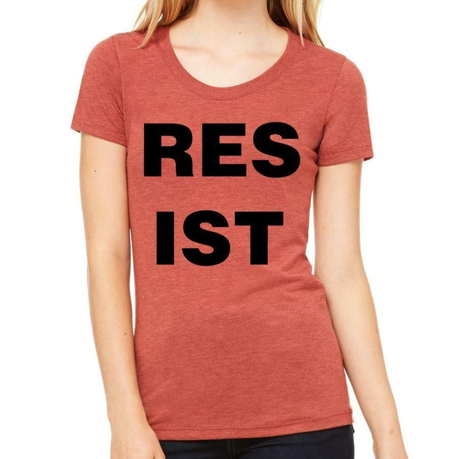 Feminine Resist Tee, Clay