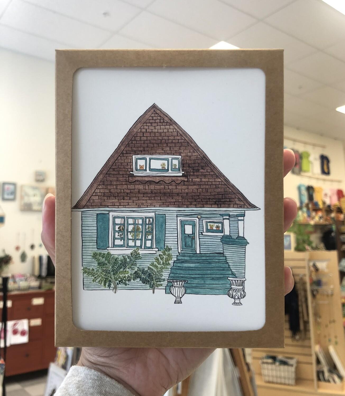 Alameda House Card Pack, Set/8 (4 designs)