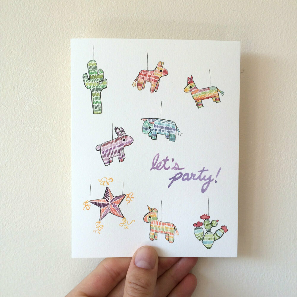 Let's Party! Card, Small