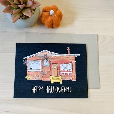 Happy Halloween Card, Pamela Baron