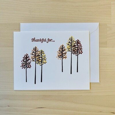 Thankful for... Card
